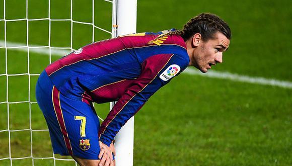 Antoine Griezmann llegó al Barcelona en 2019 desde Atlético de Madrid. (Getty)