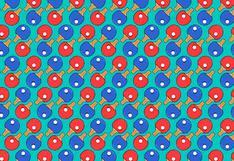 Acertijo visual del momento: en la imagen hay paletas de ping-pong sin pelota y tienes que ubicarlas
