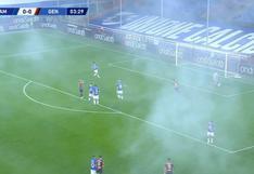 De calle al estadio: una bengala paraliza el derbi de Genoa y el viral 'explota' en YouTube [VIDEO]