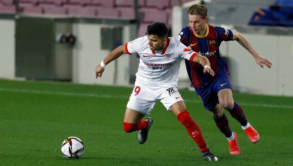 Barcelona vs. Sevilla, en el estadio Sánchez Pizjuán, ya no se jugará este fin de semana. (Getty)