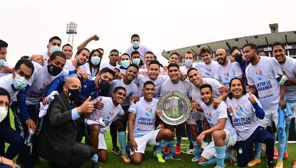 Sporting Cristal consiguió su pase a Copa Libertadores por ser campeón de la Fase 1 de Liga 1. (Foto: Liga 1)
