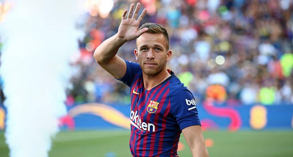 Arthur / Puesto: Volante / Club: Barcelona.