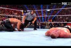 ¡Recuperó el título universal! Seth Rollins venció a Brock Lesnar con un 'pisotón' en SummerSlam 2019 [VIDEO]