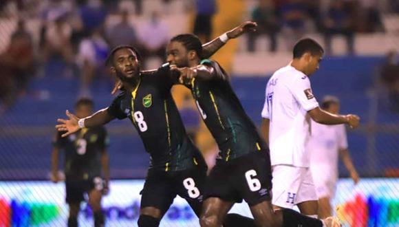 Honduras vs. Jamaica se vieron las caras este miércoles por la jornada 6 de las Eliminatorias a Qatar 2022 (Foto: @DiarioDiezHn).