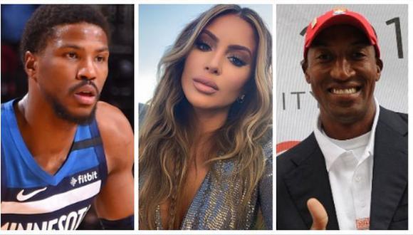 El lío amoroso que tiene involucrado a Malik Beasley y Larsa Pippen, exesposa de Scottie, leyenda de la NBA. (Foto: NBA / Instagram / AFP)