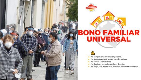 Segundo Bono Universal de septiembre: consulta AQUÍ plataforma oficial