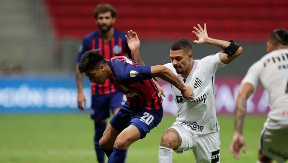 San Lorenzo vs. Santos por la Copa Libertadores 2021. (Foto: Reuters)