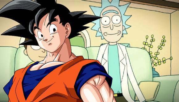 """Dragon Ball: cortometraje de """"Rick y Morty"""" hace una referencia a Goku y Akira"""