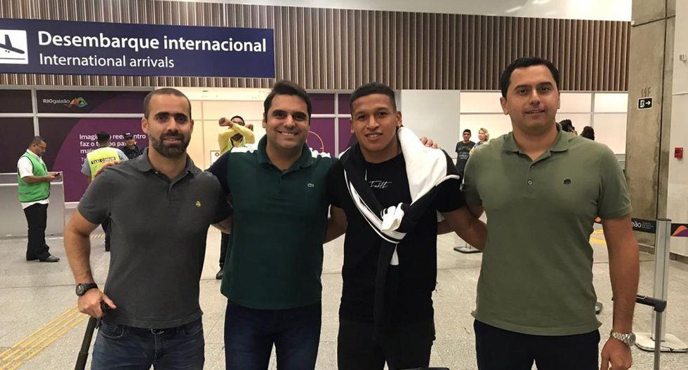 Fernando Pacheco ya está en Brasil. (Foto: GloboEsporte)