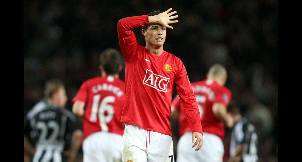 Cristiano Ronaldo (Manchester United), en 66.2 millones de dólares. (Foto: AFP)