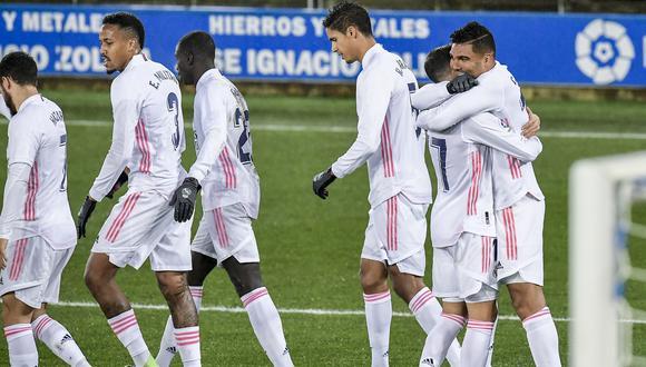Real Madrid goleó al Alavés por LaLiga Santander 2020-21. (AP)