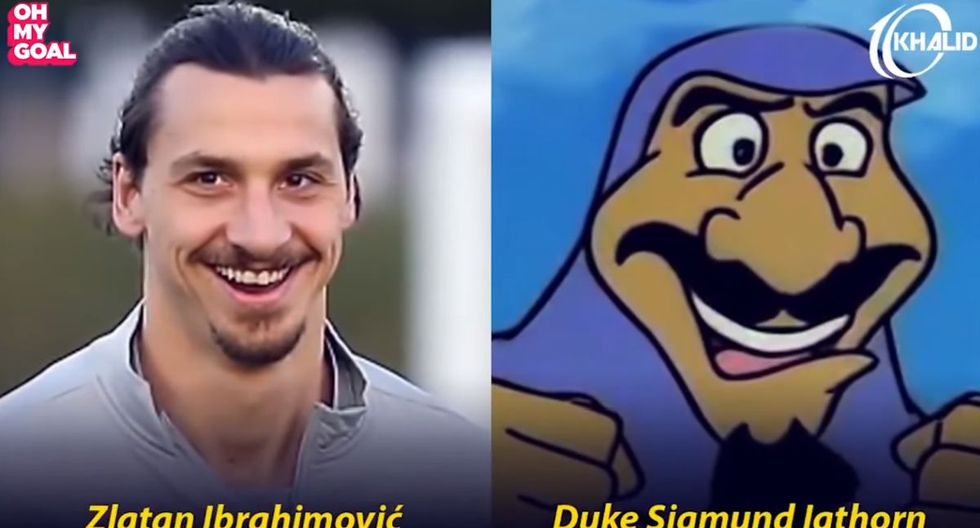 Zlatan Ibrahimovic. (Foto/Captura: YouTube)