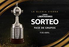 Bombos de 'U' y Cristal: fecha, hora y canal del sorteo de la fase de grupos de la Libertadores