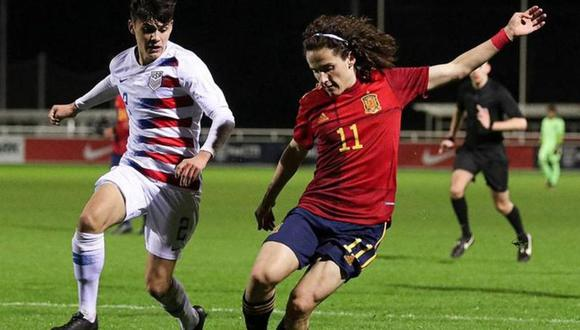 Fabio Blaco tiene 17 años y es señalado como el nuevo 'Ferran Torres'. (Foto: Mundo Deportivo)