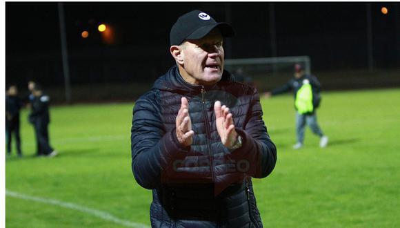 Carlos Ramaciotti solo llegó a dirigir cuatro fechas de la Liga 1. (Foto: GEC)