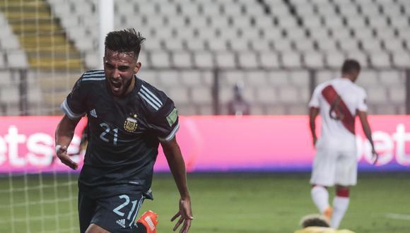 Argentina ganó 2-0 a Perú por Eliminatorias Qatar 2022. (Foto: AFP)