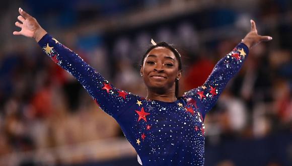 Simone Biles ganó cuatro medallas de oro en gimnasia en Río 2016. (Foto: AFP)