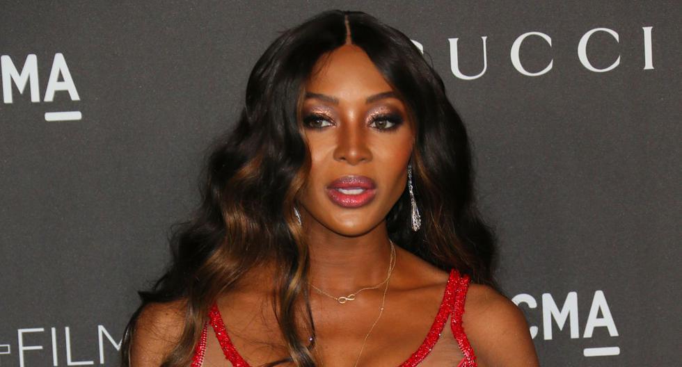 La modelo británica Naomi Campbell admitió sentirse desalentada por la situación que atraviesa el mundo. (AFP).