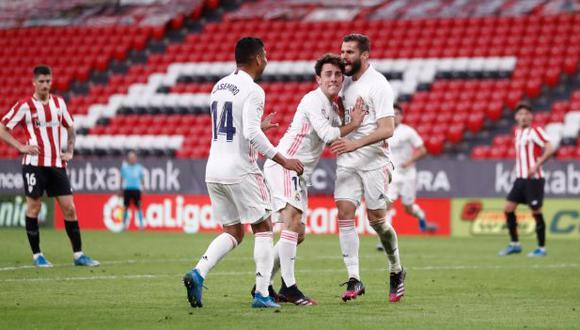 Real Madrid y Athletic de Bilbao se enfrentaron por LaLiga Santander (Foto: AP)
