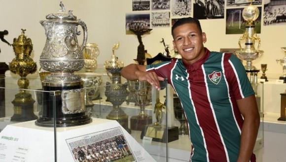 Fluminense tiene importante deuda con Sporting Cristal por Fernando Pacheco (Foto: Instagram)