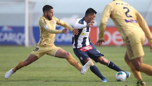 Alianza Lima perdió 2-0 ante UTC de Cajamarca. (GEC)