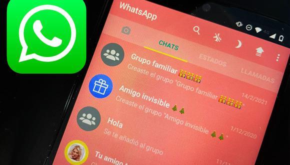 Conoce el sencillo método para poder cambiar el color de WhatsApp. (Foto: Depor)