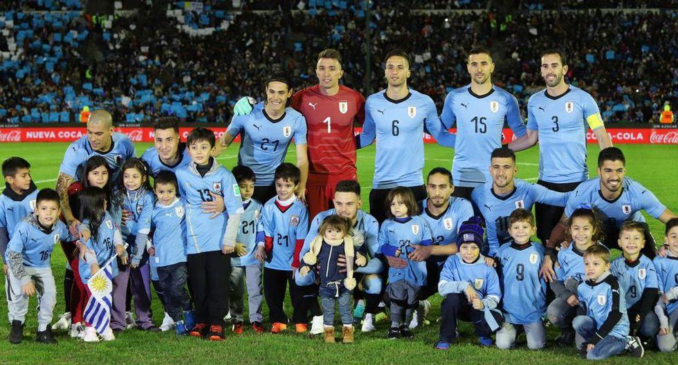 Los 'charrúas' se despidieron de su gente antes de ir a Rusia 2018. (@Uruguay)