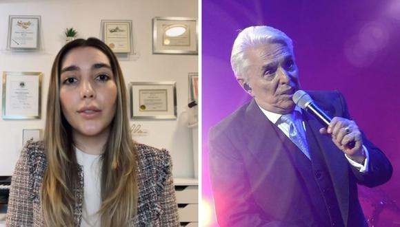 Frida Sofía denunció a su abuelo Enrique Guzmán por supuestamente haberla tocado cuando era una niña. (Foto: Instagram @ifridag / @enriqueguzmanoficial).