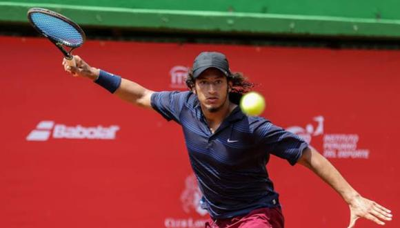 Arklon ha integrado el equipo peruano de la Copa Davis. (Foto: Twitter)