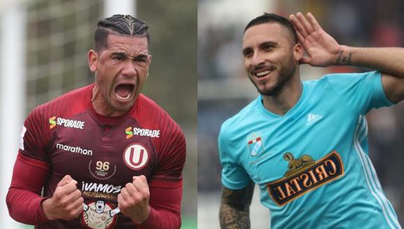 Duelo de goleadores entre Jonathan Dos Santos y Emanuel Herrera.(GEC)