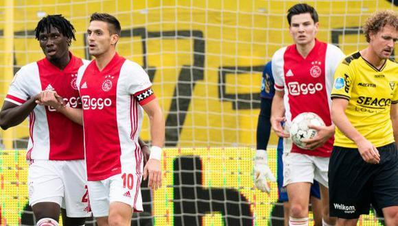 Ajax goleó a VVV-Venlo y sigue en la cima de la Eredivisie. (Foto: Ajax)