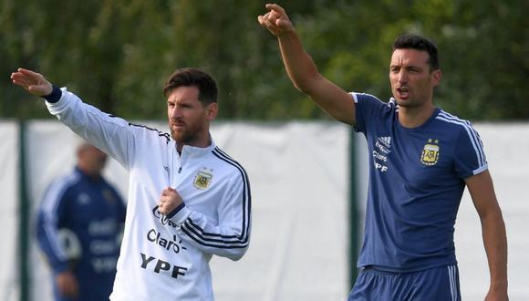 Scaloni llegó a Argentina para disputar las Eliminatorias (Foto: Agencias)