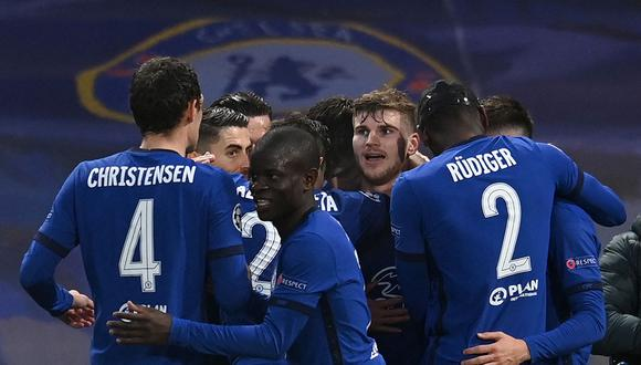 Chelsea venció 2-0 Real Madrid y clasifica a la final de la Champions League. El partido de hoy se jugó en Stamford Bridge. (Foto: AFP)