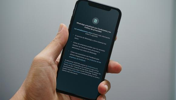 ¿WhatsApp compartirá mis datos personales? Los detalles de las nuevas políticas. (Foto: MAG)
