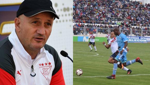 Pablo Repetto considera que la ventaja de no jugar en Juliaca la tendría River Plate.
