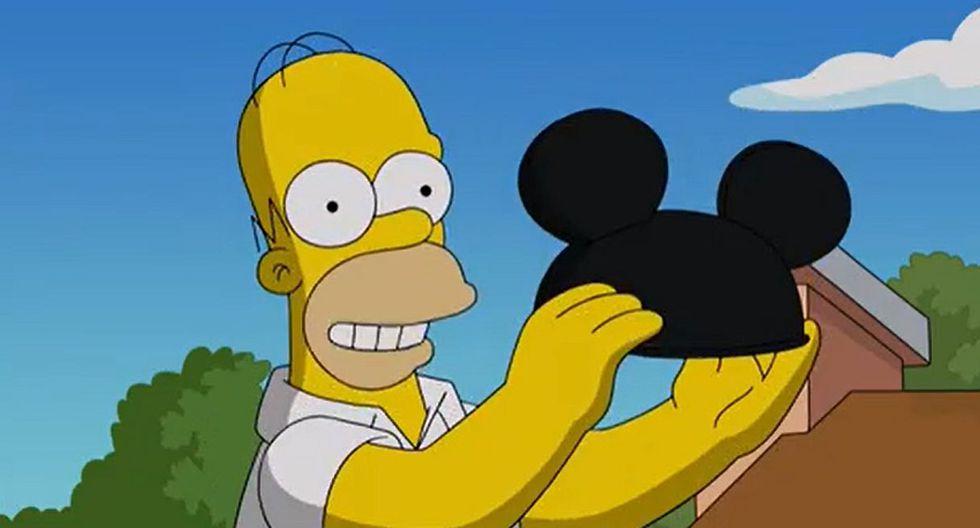 """""""Los Simpson"""" saludan su llegada a la nueva plataforma de Disney con divertido video. (Foto: Captura de video)"""