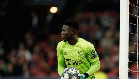 André Onana forma parte del primer equipo del Ajax desde el 2016 (Foto: AFP)