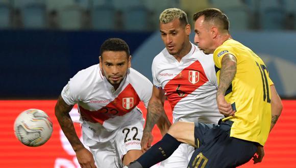 Callens fue titular con Perú ante Colombia, Ecuador y Venezuela. (Foto: AFP)