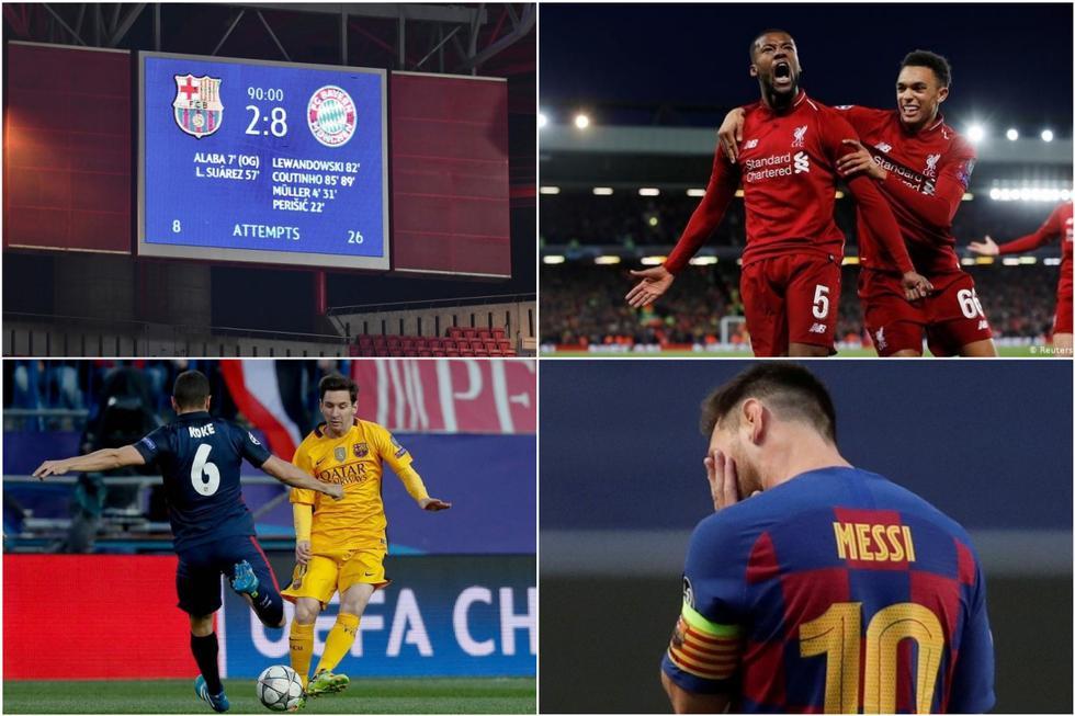 Las tormentosas eliminaciones del Barcelona desde que ganó su última Champions en 2015.