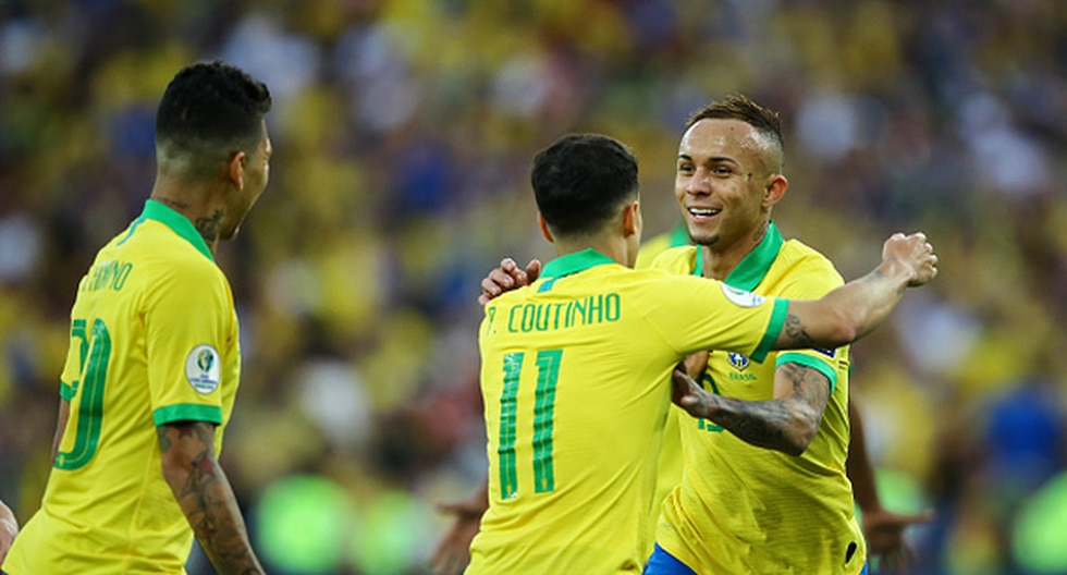 Everton Sousa fue el goleador de la Copa América Brasil 2019. (Foto: Getty)