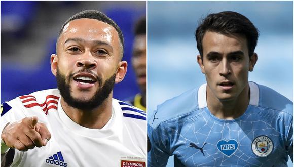 Memphis Depay y Eric García son los objetivos del Barcelona para el 2021. (Agencias)