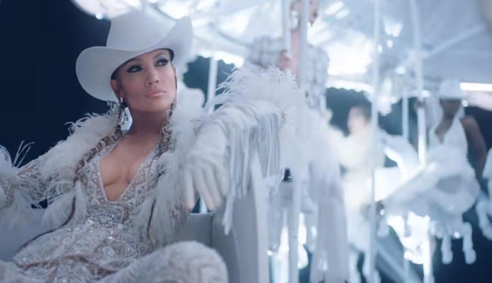 """Jennifer Lopez estrenó el videoclip de """"Medicine"""", su colaboración con French Montana. (Foto: Captura de video)"""