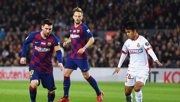 Take Kubo juega en el Mallorca desde inicios de temporada en calidad de cedido. (Getty)