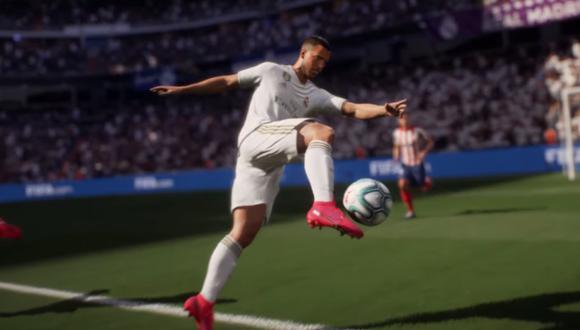 ¿FIFA 21 pierde al Real Madrid? Esto sucede si PES 2021 se lleva al club 'merengue' (Foto: Electronic Arts)