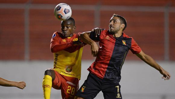 Melgar perdió 2-1 contra Aucas por el grupo D de la Copa Sudamericana (Foto:AFP)