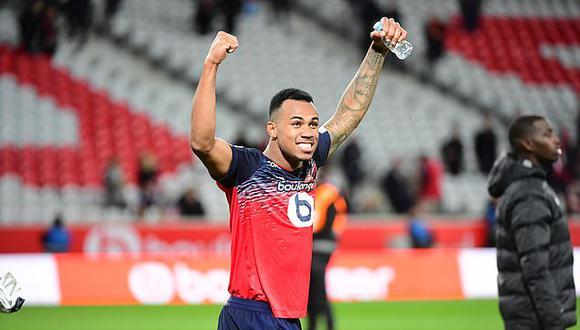 """""""Gabriel se ha unido a nosotros procedente del Lille con un contrato a largo plazo"""", así lo señala el club inglés."""