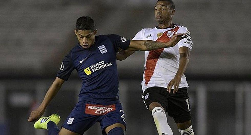 Nicolás de la Cruz juega en River Plate desde la temporada 2017-18. (AFP)