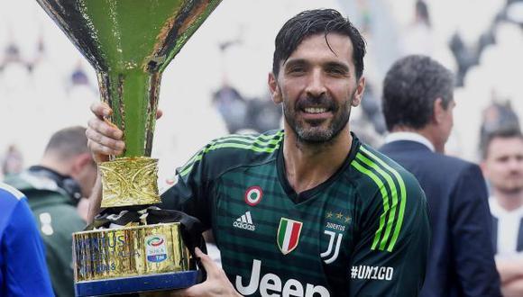 Gianluigi Buffon jugó 17 temporadas con la camiseta de Juventus. (Foto: AFP)