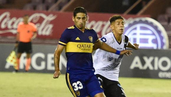 Boca venció a Claypole con goles de Villa y Maroni por Copa Argentina. (@bocajrsoficial)