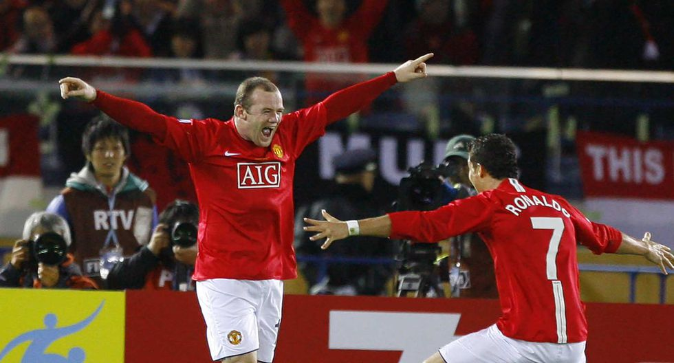 Wayne Rooney - Manchester United 1-0 Liga de Quito 2008 (Getty)